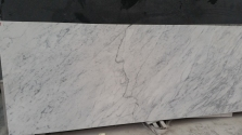 Bianco Carrara Bookmatched